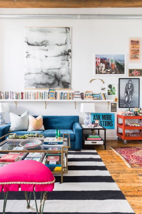 6 Ways to Put an Eclectic Stamp on Your Life