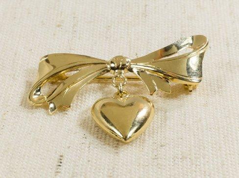 heart-brooch