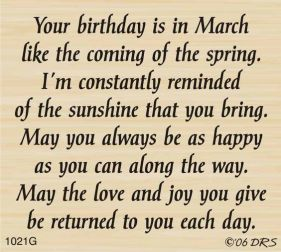 march-blessing